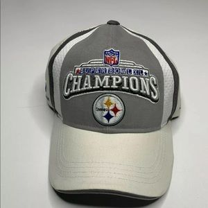 Pittsburgh Steelers Super Bowl XL Champions Hat